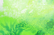 Leinwandbild Motiv watercolor background divorced, paint green