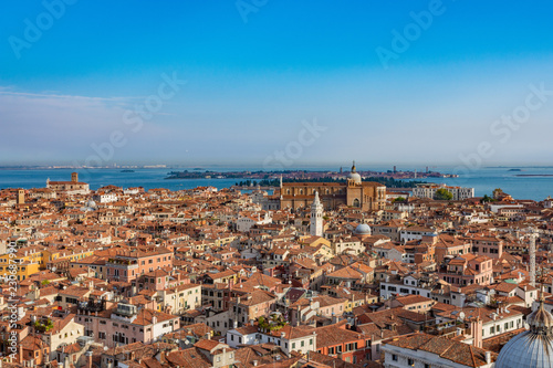 aerial view of venice from summer - 230687990
