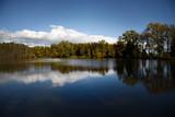 Autumn by the lake, Slivnica pri Mariboru, Slovenia - 230697141