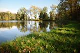 Autumn by the lake, Slivnica pri Mariboru, Slovenia - 230697374