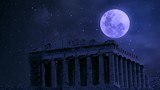 The Temple of Parthenon, In the Acropolis of Atherns, Greece. - 230721378