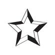 Isolated star shape icon. Vector illustration design - 230722779