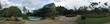 panoramic view of the park and the greenhouse  - 230735343