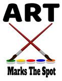 art marks the spot design - 230739137