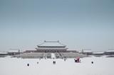 Forbidden City under snow - 230743726
