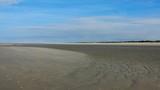Weite menschenleere Nordseestrände, Zeeland in den Niederlanden  - 230759709