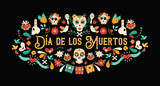 Day of the dead spanish language greeting card - 230789509