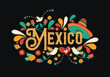 Mexico quote greeting card for mexican holiday - 230791396
