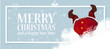 Santa cartoon upside down - 230791711