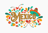 Mexico quote greeting card for mexican holiday - 230791724