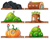 Set of fairy house - 230794566