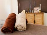 ベッドとタオル エステ - 230796750