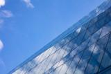 Skyscraper against blue sky, in Berlin Germany, background. - 230798525