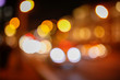 Bokeh city at night as an abstract background - 230838908