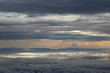 Beautiful colourful cloudscape captured from plane - 230841923
