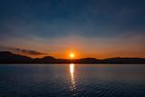 Sunset Lake Austria