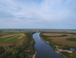 View of the great Oka river from a height - 230865558