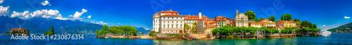 Leinwanddruck Bild Isola Bella, Borromäische Inseln, Lago Maggiore, Piemont, italien