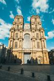 Cathedral of St Peter in the city center of Rennes,  Rennes city - 230877910