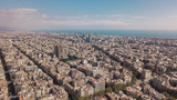 Cityscape of Barcelona at sunny day. Aerial view - 230880341