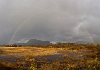 Rainbow in Lofoten, Norway © Alexander