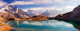 Fototapety Crystal Lakes Chamonix in the Alps