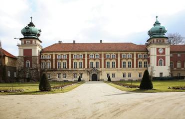 Castle of Lubomirski in Lancut. Poland