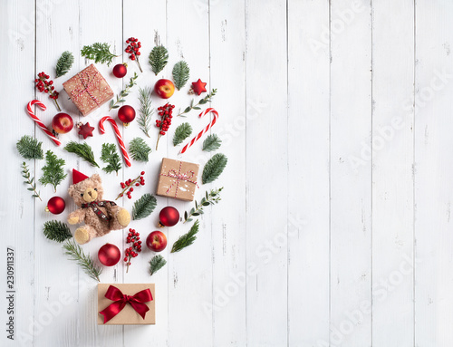Leinwanddruck Bild Christmas tree