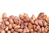 Roasted peanuts isolated on white background - 230922778