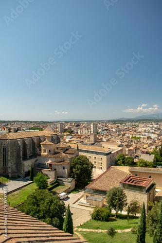 Aufnahmen von Girona in Katalonien Spanien - 230931384