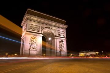 Night at Arc de Triomphe