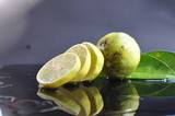 Lime citrus fresh fruits