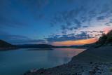 Sonnenuntergang am Edersee - 230964731