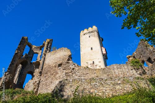 Die Burgruine Olbrück im Brohltal
