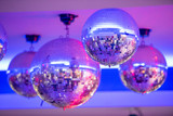 Disco balls.night party background photo