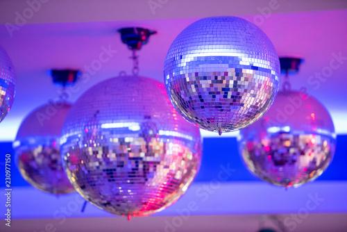 Disco balls.night party background photo - 230977150