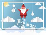 joyeux noël - merry christmas - père noël - santa claus - 230981373