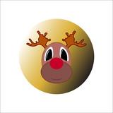 Funny Christmas deer