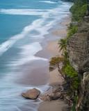 View over deserted beach near Tambor on The Nicoya Peninsula, Guanacaste, Costa Rica.