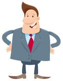 manager or businessman cartoon character - 231032579