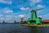 Zaanse Schans Windmills - famous historical sightseeing near the Amsterdam - 231037104