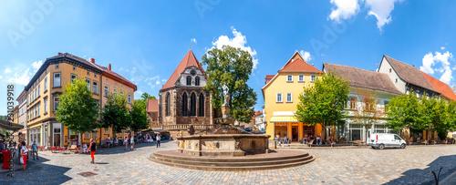 Leinwanddruck Bild Johann Sebastian Bach Kirche, Arnstadt