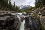 river in the mountains of Canada