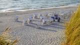 Strandkörbe am Nordseestrand  - 231049158