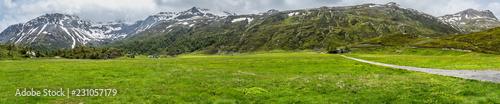 Simplon Pass Gipfel Panorama Schweiz / Italien