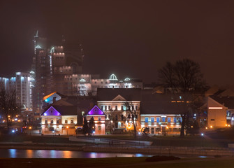 Trinity hill in Minsk. Belarus