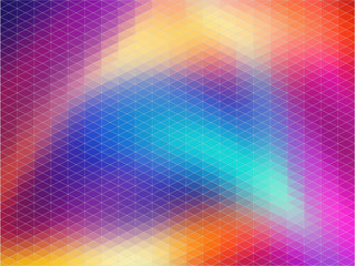 Color gradient covers design. Geometric shapes pattern.