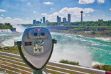 Buffalo, USA-20 July, 2018: Niagara Falls, American Side