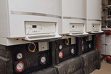 installation chauffage immeuble, chaudières en cascade - 231077310