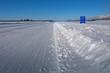 Aklavik Ice Road in Northwest Territories